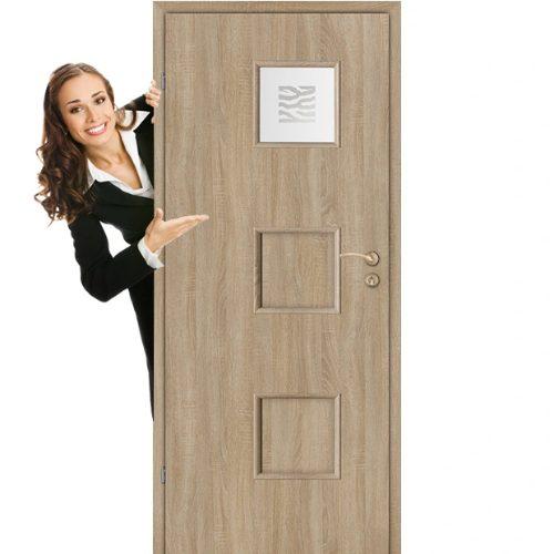 Drzwi do łazienki z przeszkleniem Jaro Tiga 1