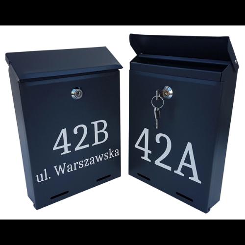 """Pašto dėžutė su asmeniniu ženklu """"Metalbud YORK"""""""