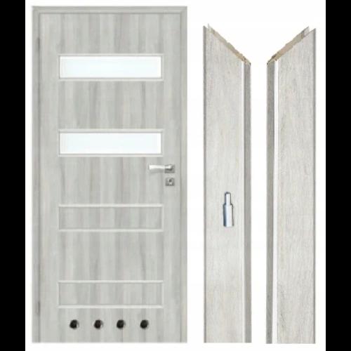 Drzwi łazienkowe z tulejami wentylacyjnymi VST Milan