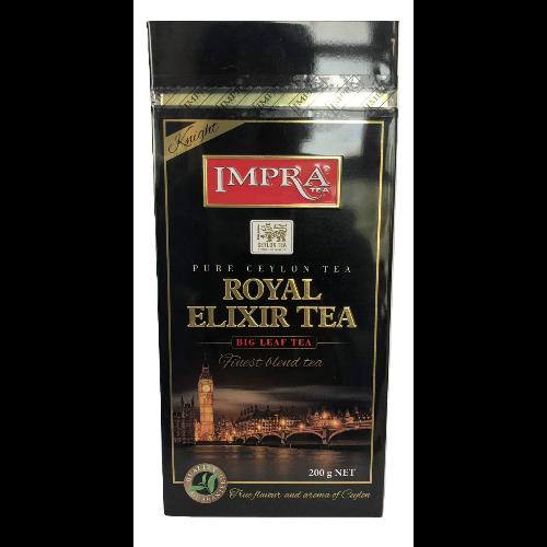 Impra Royal Elixir Tea - liściasta herbata czarna