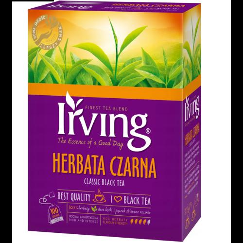 Irving - klasyczna czarna herbata w torebkach
