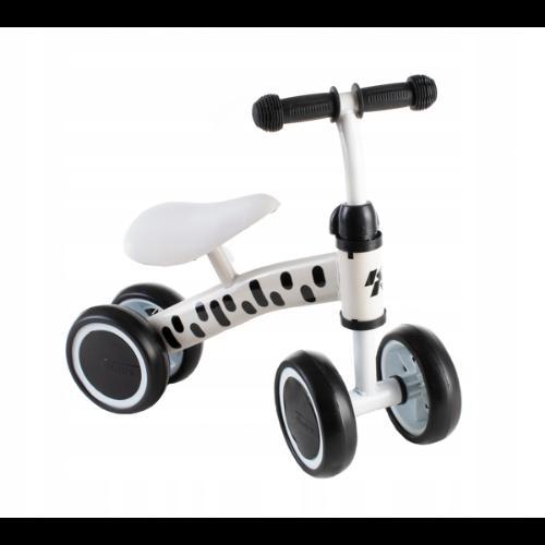 Rowerek biegowy jeździk pchacz biały