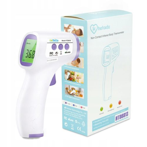 HeTaiDa HTD8813 – elektroniczny termometr bezdotykowy