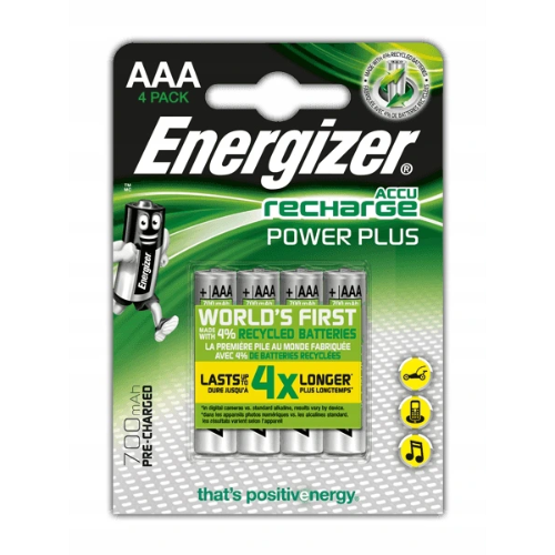 Akumulatorki Energizer POWER PLUS R3 AAA 700mAh