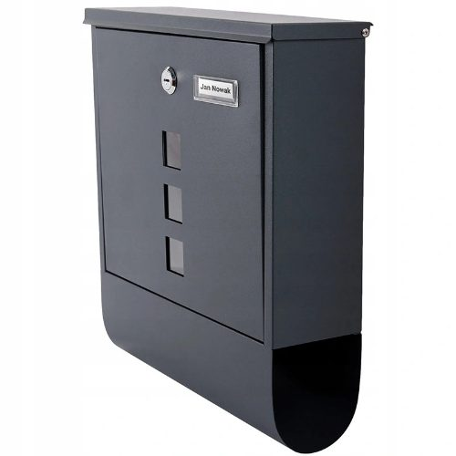 """""""Verda SN3672"""" pašto dėžutė su vieta laikraščiams"""