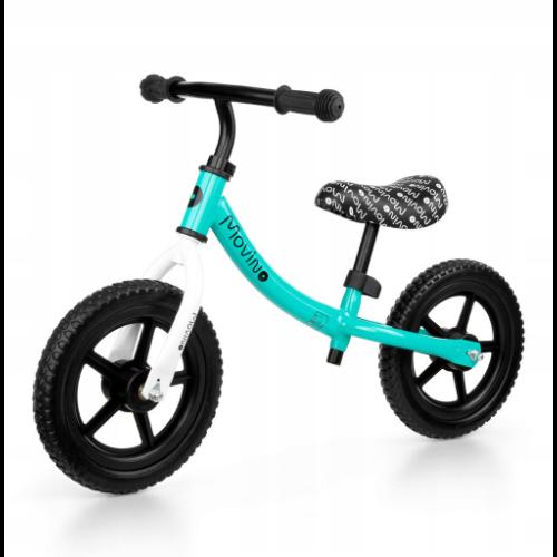 """Rowerek biegowy Movino Classic 12"""" zielony"""