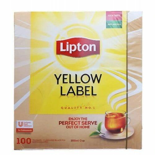 Lipton Yellow Label - czarna herbata ekspresowa