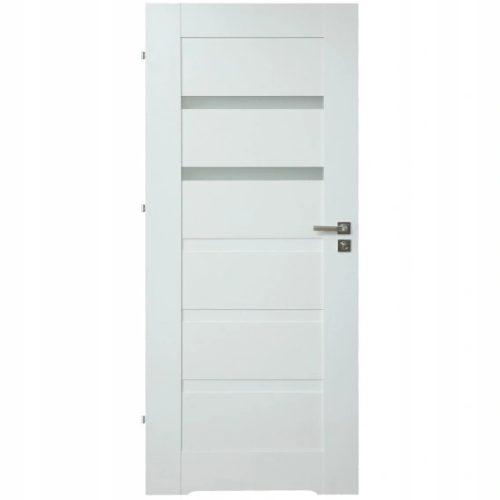 Białe drzwi łazienkowe z podcięciem Domidor Next 5.6.