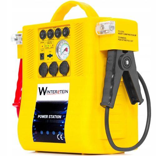 Urządzenie 4w1 - prostownik, kompresor, rozruch, latarka Winterstein