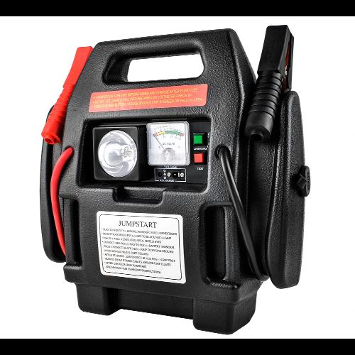 Urządzenie z rozruchem do samochodu - starter i kompresor Malatec 4w1