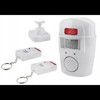 Tani alarm domowy z detektorem ruchu