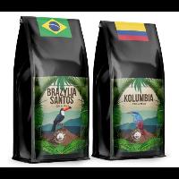 Blue Orca Coffee Brazylijska Santos + Kolumbia
