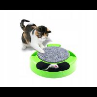 Drapak i zabawka dla kotów 2w1