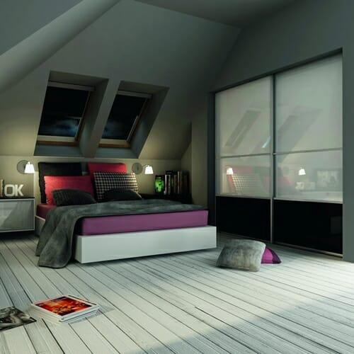 szafa do zabudowy do sypialni