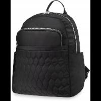 World-style damski plecaczek miejski z pikowaną kieszonką