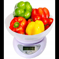 Elektroniczna waga kuchenna z miską