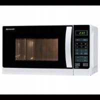 Sharp R-642WW – mikrofalowa kuchenka z funkcją grilla
