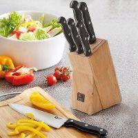 Richardson Shieffield Artisan – zestaw noży z blokiem do przechowywania