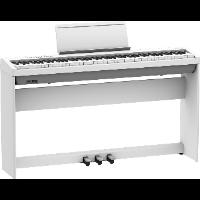 Roland FP-30X WH – białe pianino cyfrowe ze statywem