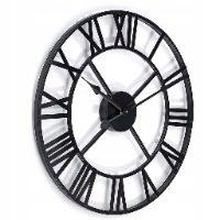 Retro Loft Vintage zegar rzymski dworcowy