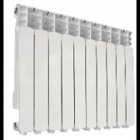 Biały grzejnik aluminiowy