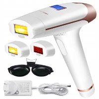 Lescolton T009I – laserowy depilator z wymiennymi głowicami