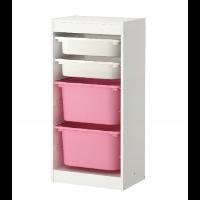 IKEA TROFAST – pionowy regał na zabawki
