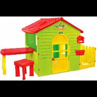 Mochtoys MO-11210 – domek ogrodowy z płotkiem