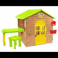 Mochtoys 12240 – domek ogrodowy ze stolikiem