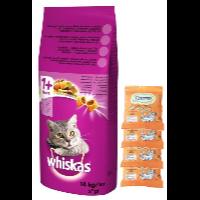 Whiskas Adult – karma sucha z wołowiną i warzywami