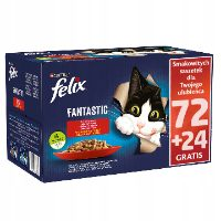 Felix Fantastic – mokra karma z galaretką