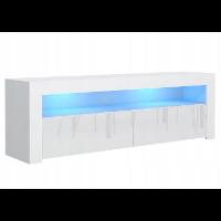 Tania szafka RTV z podświetleniem
