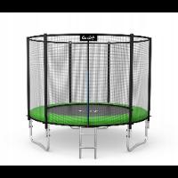 Zewnętrzna trampolina do ogrodu 252 cm
