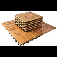 MalaTec płytki drewniane