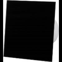 Czarny wentylator łazienkowy