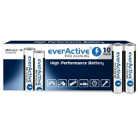 Baterie Alkaliczne EverActive Pro