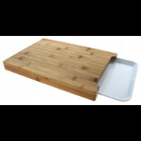 Deska do krojenia z wysuwanym pojemnikiem