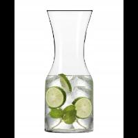 Otwarta karafka do wody lub wina
