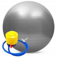 Piłka gimnastyczna z pompką 65 cm