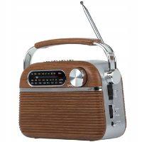 Tiross TS-461 – radioodtwarzacz retro z Bluetooth
