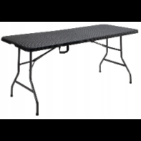 All4home-Garden Rattanowy stół cateringowy