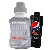 Syropy Cola Zero + Pepsi MAX