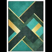 Pluszowy dywan typu shaggy do domu