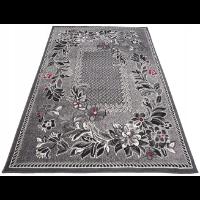Okrągły dywan shaggy