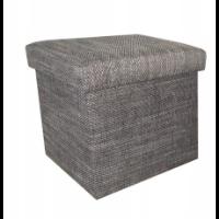 C.K.  Meble — tapicerowana pufa z pojemnikiem