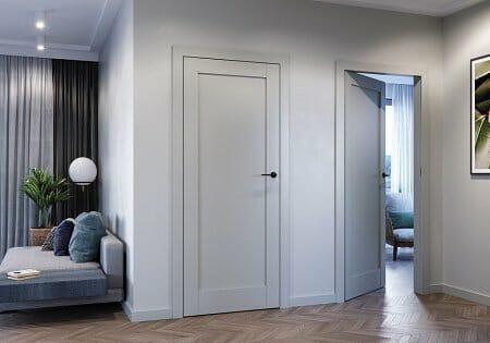 Porta GRANDE RAL 7035