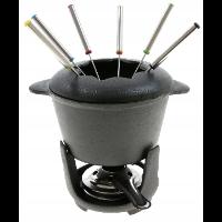 King Hoff KH-1195 — żeliwny garnek do fondue