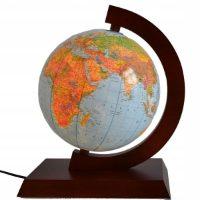 Głowala —  drewniany globus podświetlany