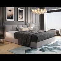 Łóżko kontynentalne do małej sypialni 140 × 200