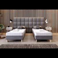 Kontynentalne łóżko z funkcją łączenia 80 × 200